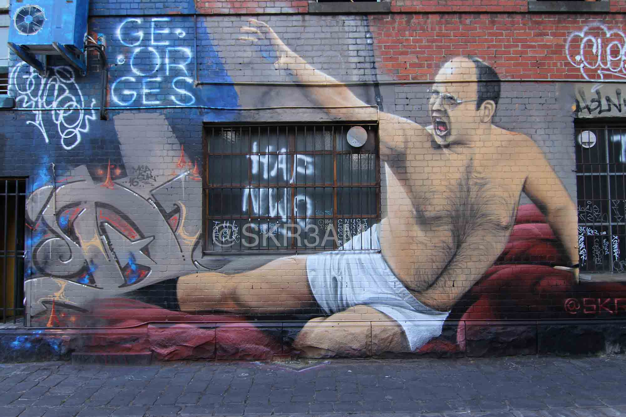 George Costanza Street Art